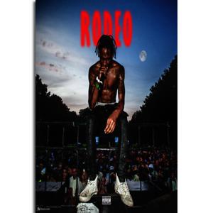 G080 Custom Travis Scott Days Before Rodeo Rap Music Album Art Poster