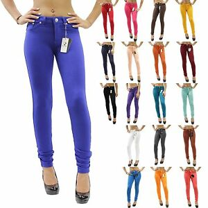 e34636dc517b0 Image is loading New-Colors-Sexy-Skinny-Jeggings-Stretch-Moleton-Jean-