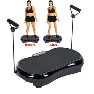 aed5ae9111 Vibration Platform Ultra Slim Exercise Plate Fit Massager Machine Body