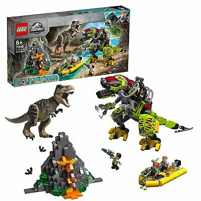 LEGO Jurassic World T. rex vs Dino-Mech Battle Set 75938