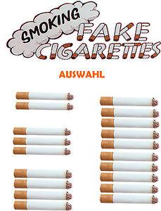 echt aussehende zigarette fake zigaretten attrappe. Black Bedroom Furniture Sets. Home Design Ideas