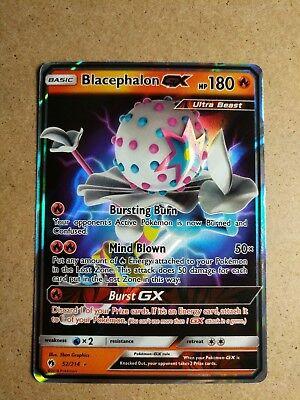 Pokemon Blacephalon GX 52//214 Lost Thunder Ultra Regular Holo Rare Near Mint