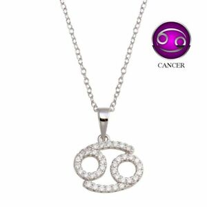 Cancer Necklace 5 Pcs 6x7mm Silver Plated Cancer Charms MTE104 Cancer Zodiac Sign Astrology Charm Zodiac Necklace ZDK Initial Charms