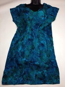 Go fish clothing jewelry co s s dress w pleats ebay for Go fish clothing
