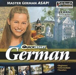 QuickStart-German-AUDIO-2-CDs-Learn-German-Quickly-Brand-New-Sealed