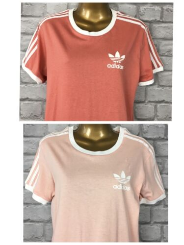 Adidas Summer 6 2 set Uk shirt California Pastel 3 Ladies Casual strisce di T gCwqrZgnO