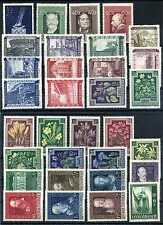 Briefmarken Österreich 1948 Kompl. Jahrgang ** postfrisch Nr: 854 - 928 BR685