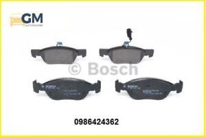 Kit 4 pastiglie freno Anteriori BOSCH 0986424362 FIAT PUNTO 1.3 JTD 16V 51KW