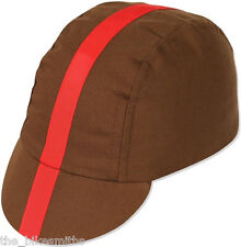 item 4 Pace Classic Cap Chocolate w  Red Ribbon Brown Track Fixed Gear Cycling  Bike Hat -Pace Classic Cap Chocolate w  Red Ribbon Brown Track Fixed Gear  ... 3e794dd48