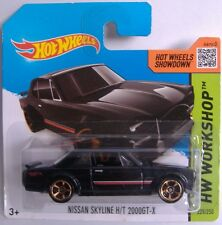 Hotwheels (2014) NISSAN SKYLINE H/T 2000GT-X - #225/250 - 1/64 - HW WORKSHOP