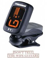 Fishman FT-2 Clip On Fully Chromatic Acoustic Tuner NEW Musical Instruments