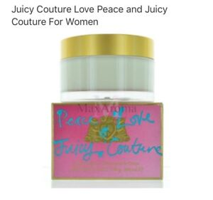 JUICY-COUTURE-Peace-amp-Love-BODY-CREAM-New-SEALED-in-Box-6-7oz-200m
