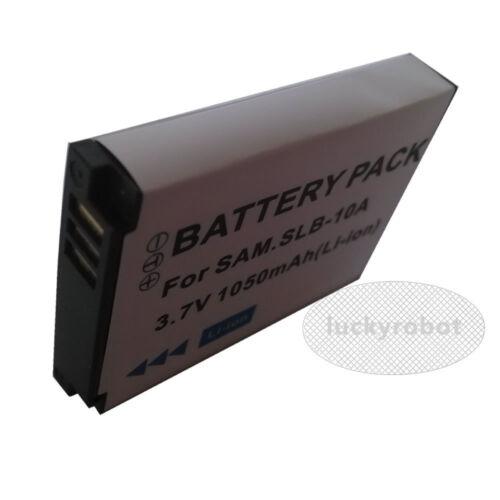 Batería de la Cámara SLB-10A O Cargador Para Samsung P800 P1000 P1200 PL50 PL51 PL55 Ne