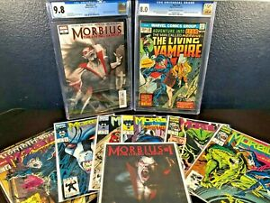 Key-Issue-Lot-MORBIUS-LIVING-VAMPIRE-Fear-20-1st-Solo-Story-2013-cgc-9-8-8-0-NM