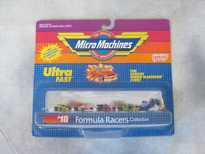 GALOOB MICRO MACHINES ULTRA FAST FORMULA RACERS VINTAGE MOC RENAULT INDY 6400