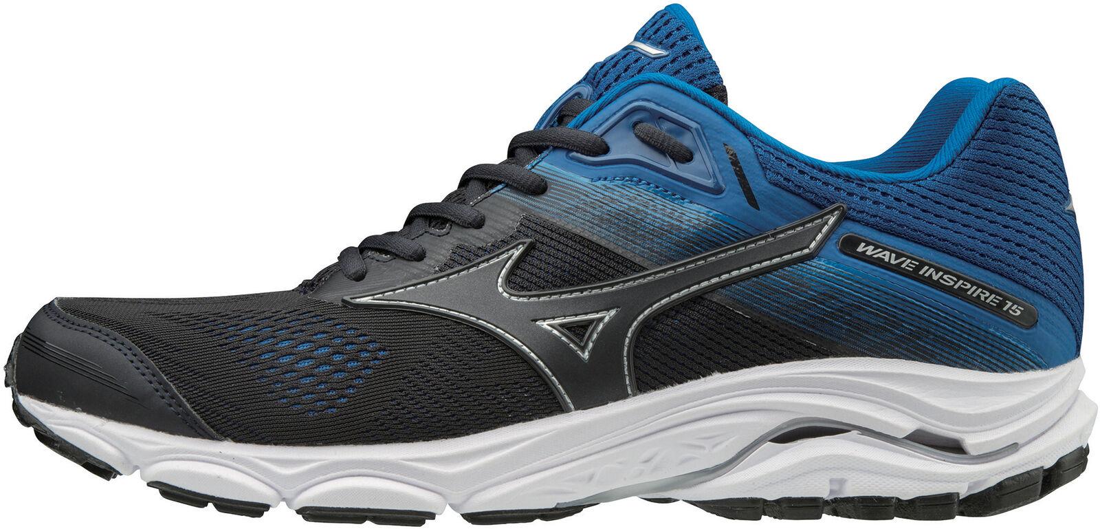 Mizuno Wave Inspire 15 mannenu's hardlopen schoenen --zwart