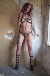Womens-Leather-Straps-Kinky-Bra-and-Thong-Bondage-Harness-7880