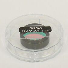 FILTRO dielettrico IR-UV CUT COMA Rejection filter  Ø 31.8 ( 1,25 '' ) - ID 4879