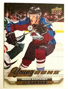 2015-16-Upper-Deck-Mikko-Rantanen-Young-Guns-Canvas-Rookie-C98-Hockey-Card