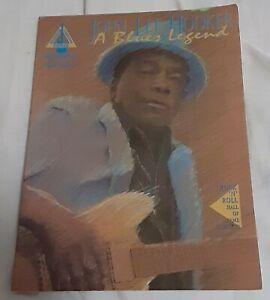 John Lee Hooker A Blues Legend Guitar Sheet Music 73999601695 Ebay