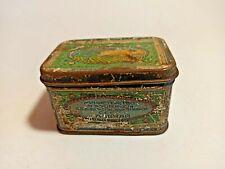 Very big antique tin from Germany Messmer Tee tea Teekanne teapot