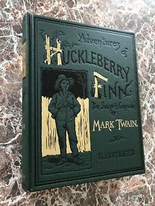 Adventures of Huckleberry Finn, BEST Facsimile of 1885 First Edition~Mark Twain