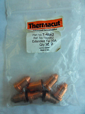 THERMACUT PLASMA SHIELD CUP 123897 FOR MILLER PLASMA TORCH BOX OF 6