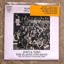 Beatles John & Yoko Happy Xmas 2003 Green Vinyl Unplayed / Mint