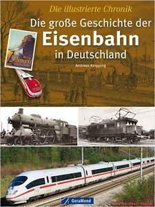 Fachbuch-Die-grosse-Geschichte-der-Eisenbahn-in-Deutschland-illustrierte-Chronik