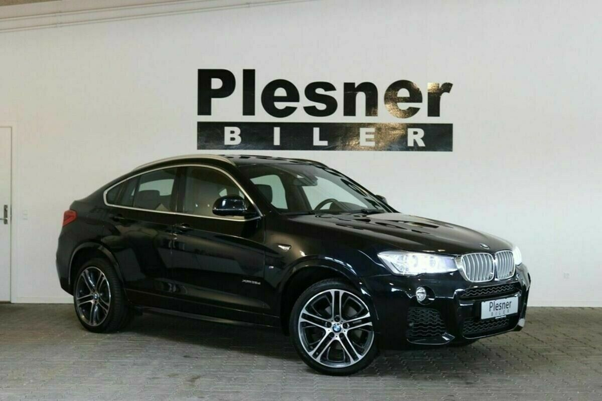 BMW X4 3,0 xDrive35d aut. 5d - 3.094 kr.