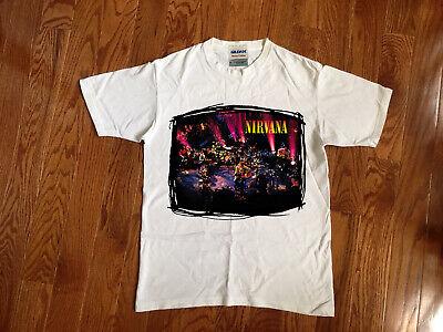 Official T-Shirt New 2XL ONLY Grunge MTV UNPLUGGED NIRVANA