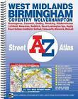 West Midlands Street Atlas 9781782570943 Spiral Bound