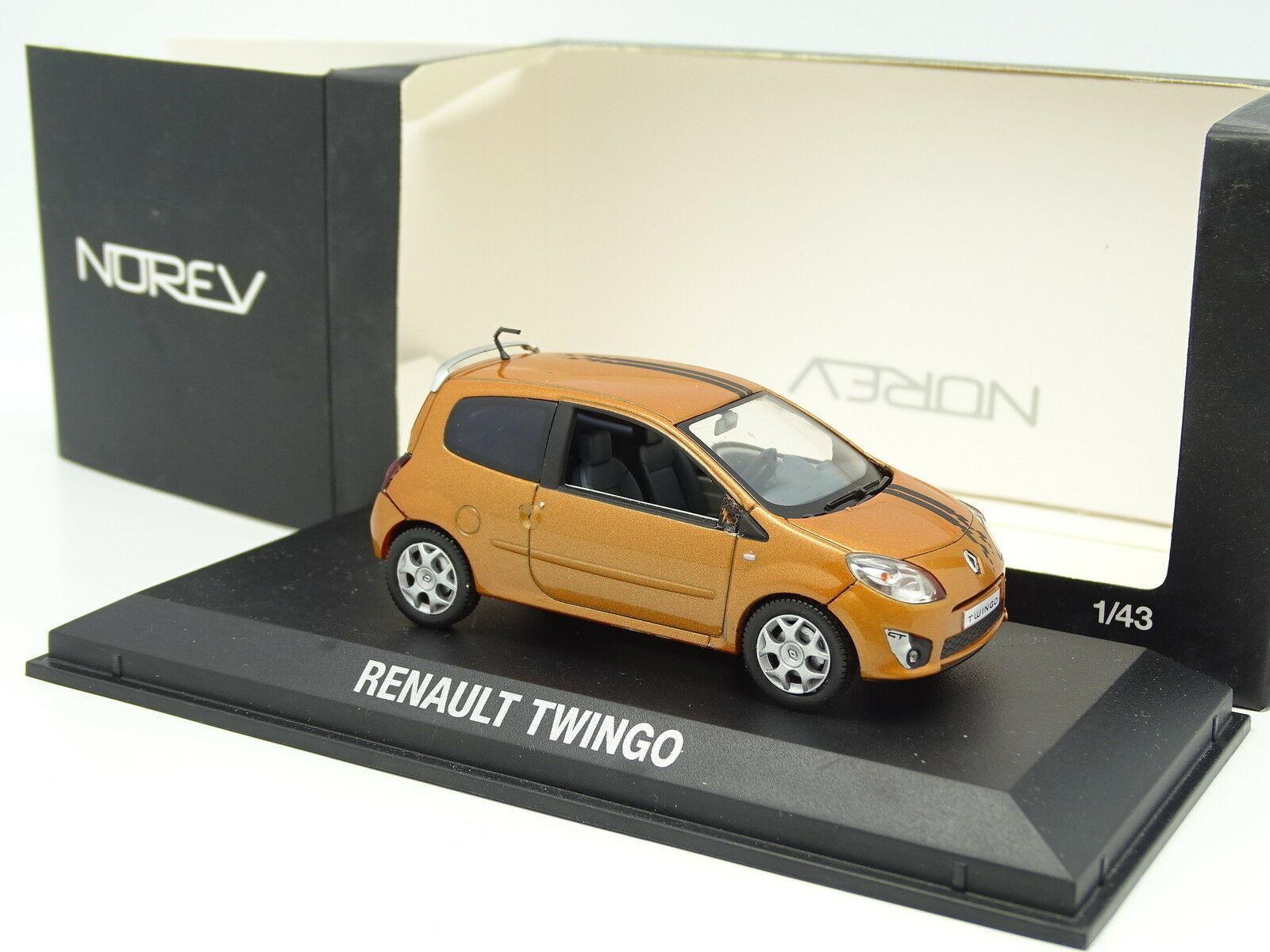 Norev 1 1 1 43 - Renault Twingo Gt orange eeb60d