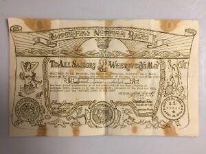 NEPTUNE-REX-WWII-WW2-Certificate-Found