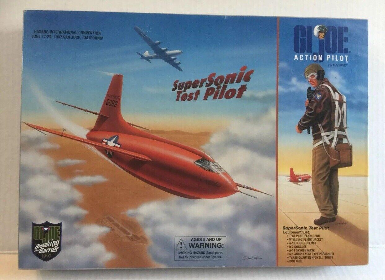 1997 G.I JOE 12 JOECON CONVENTION BOX SET SUPERSONIC TEST PILOT COMPLETE NEW