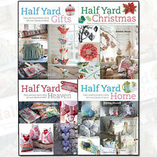 Debbie Shore Collection 4 Books Set Half Yard Gifts,Christmas,Home,Heaven NEW