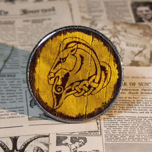 The Elder Scrolls Skyrim Holds Shield Pinbacks Game Button Tinplate 58mm/2.2inch by Ebay Seller