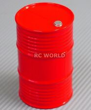 RC 1/10 Scale Accessories Plastic DRUM CONTAINER  RED