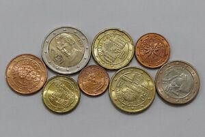 AUSTRIA-2002-EURO-COIN-SET-HIGH-GRADE-B24-YJ13