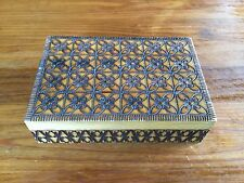 Very Decorative Hinged Wooden Box