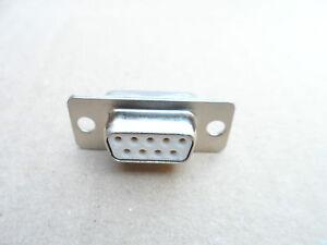 Connecteur Sub-d 9 Femelle à Souder - Harting - Droit Montage Panneau 3f6noaro-07213026-781384990
