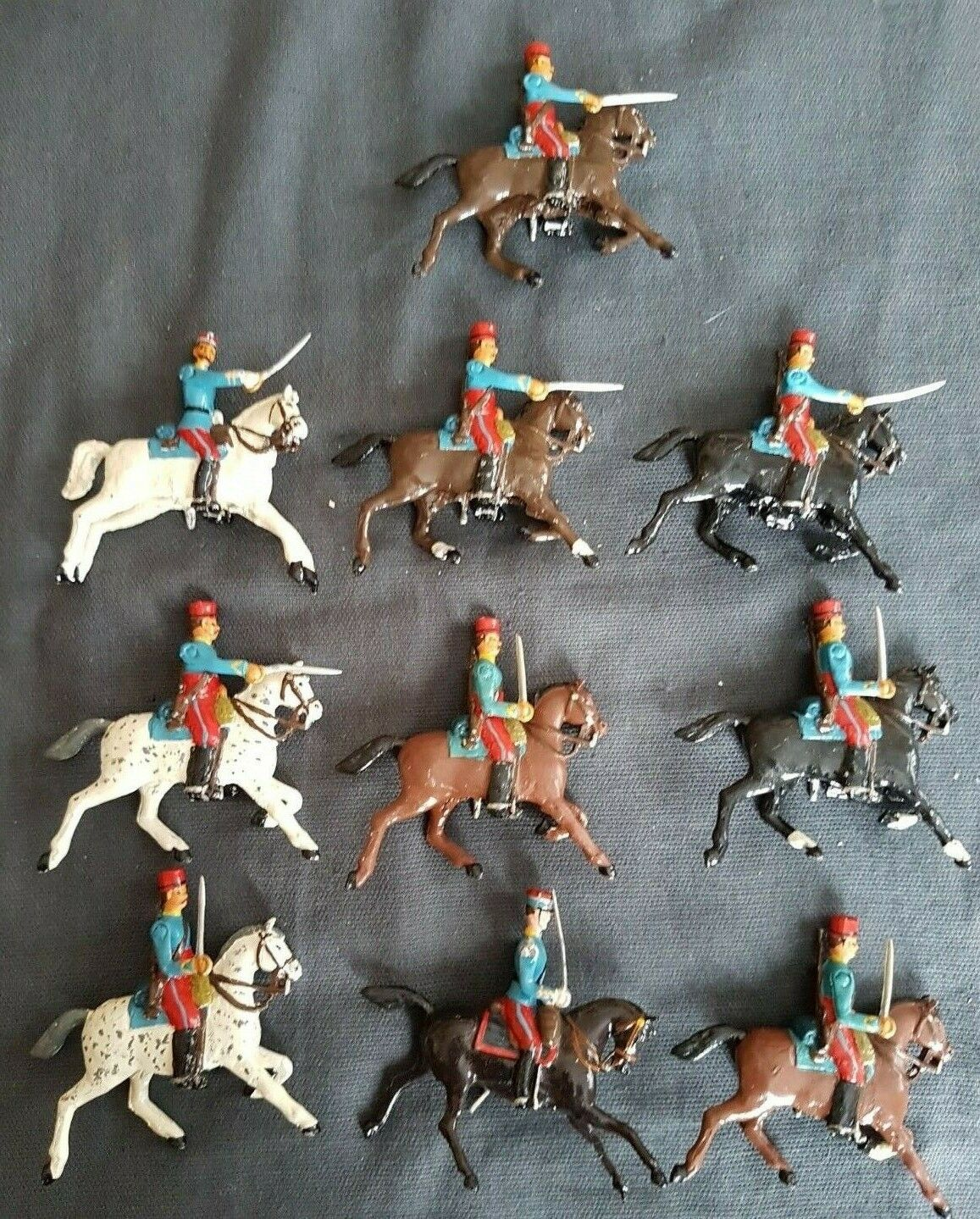 Montato Chasseurs d'africa 10 Figure