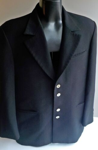 Iconic 1980s Claude Montana Paris Blazer IT:52 US: