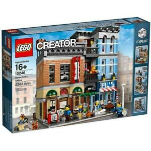 Lego-Modular-Buildings-Set-10246-Detective-039-s-Office-New-MISB