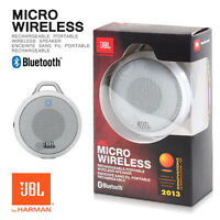 Brand Jbl Micro Wireless Portable Bluetooth Speaker (white)