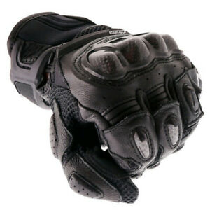 Alpinestars-SP-X-Air-Carbon-Glove-Black-Leather-Sport-Motorcycle-Gloves-New