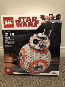 Lego Star Wars 75187 BB-8 1106pcs New Sealed 2017 FREE SHIPPING RETIRED