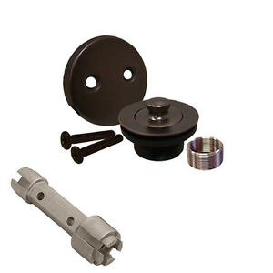 Oil Rubbed Bronze Bathtub Drain Bath Area Tub Shower Assembly And Removal Too