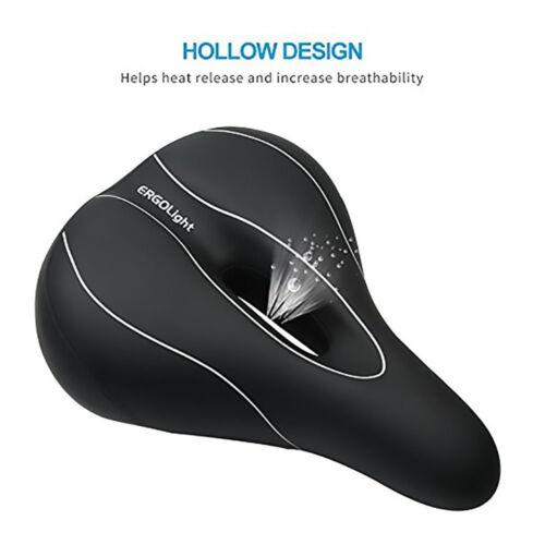Bike Saddle Seat Hollow Soft Foam Comfort Road Bicycle Cycling Sport Pad Cushion