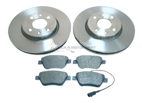 Fiat Bravo 1.4 2007on  Petrol  FRONT 2 BRAKE DISCS AND PADS SET NEW